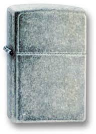 <b>Зажигалка ZIPPO Antique Silver</b> Plate, латунь с покрытием ™Plate ...