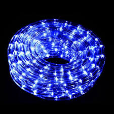 christmas rope lighting. 9M Connectable LED Rope Light - Blue Christmas World Lighting
