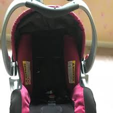 baby trend infant car seat installation