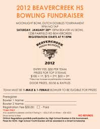Bowling Fundraiser Flyer Template Bowling Pinterest Bowling