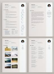 Resume Template Ai 100 Impeccable Resume Templates Word PSD INDD AI Download 60