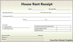 receipt for rent reciept for rent receipt template for rent rent receipt template
