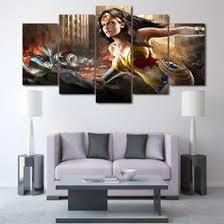 Splatter Art  EtsyWonder Woman Home Decor