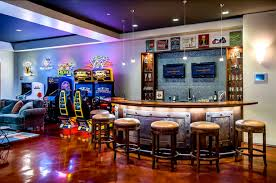 cool man cave furniture. This Cave Meets All The Check Boxes For A Classic Fun Cave. Bar With Cool Man Furniture