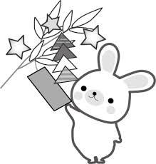 七夕にぬりえで遊ぼう無料ダウンロードサイト紹介 折り紙もあるよ