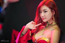 dota 2 cosplay korean lina crystal maiden cosplay windrunner