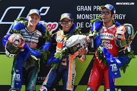 Enjoy the final moments of the #motogp race at barcelona as fabio quartararo conquered his 3rd premier class win and the. Motogp Marquez On His Momentum As Quartararo Claims Maiden Motogp Podium News Michelin Motorsport