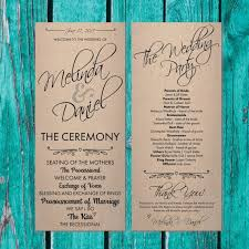 pinterest wedding programs. Rustic Wedding Program Ideas Beautiful 137 Best Wedding Images On