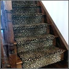 animal print carpet stair runners alluring leopard runner rug with