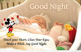 Good night love image with couple