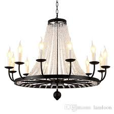 american style crystal chandelier for porch aisle corridor balcony stairs home creative hall cloakroom retro single crystal chandeliers lamp crystal