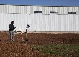 how can high energy physics help the water shortage cern a technician from the optosmart company a partner of the project examines the field in the bekaa valley in where they will install the sensors