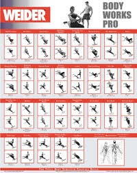 Weider Ultimate Body Works Bench With Professional Workout