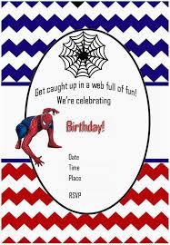 Spiderman Birthday Invitation Templates Free Free Printable Spiderman Birthday Party Invitations