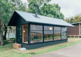 prefab garden office. Muji Is Moving Into The Garden Office/tiny House Market With These Prefab Huts Designed By Konstantin Grcic (a Two-storey Build A Mezzanine), Office I