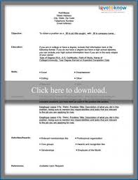 chronological resume template download free blank resume form lovetoknow
