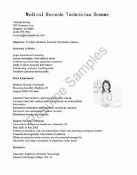 Resume Example Behavioral Health Technician Cover Letter Resume
