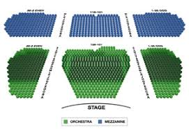 Marquis Theatre Seating Chart Broadway Seating Charts
