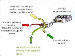 4 wire rectifier diagram online wiring diagram  at 4 Wire 2 Phase Motorcycle Regulator Rectifier Wiring Diagram