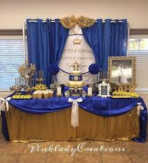Prince Themed Baby Shower Centerpieces