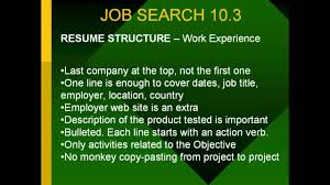 How To Write A Good Job Resume Great Resumes Writing Tips How To