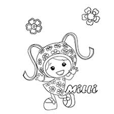 Team Umizoomi Coloring Pages Free Color Bros