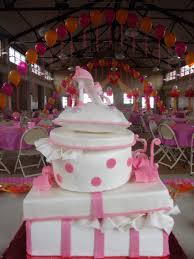 Quinceanera Cake In Pink And White With Stacked Presents Edible