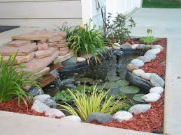 Small Picture ponds for landscaping in flat yard Front Yard Pond Ideas