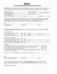 Rental References Form 40 Landlord Reference Letters Form Samples Template Lab