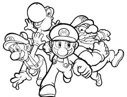 coloring page for boy