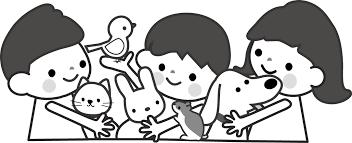 最高のコレクション 動物 白黒 イラスト 子供と大人のための無料印刷