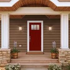 home depot front entry doorsFeather River Doors 375 in x 81625 in 6 Lite Craftsman Stained