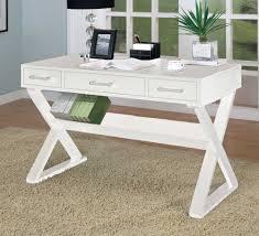 White desk office Classy Furniture Kropyok Furniture Pure White Desk For Classy Workplace Feature Home Office