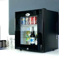 mini fridge glass door clear canada