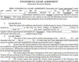 Free Commercial Lease Agreement Forms To Print Free Commercial Lease Agreement Forms 362922500093 Free