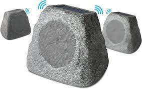 ion audio powered wireless outdoor speaker each gray solarstnmulti best