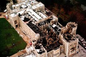 「1992 Windsor Castle before fire」の画像検索結果