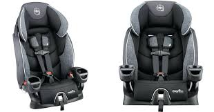 evenflo car seats installation booster seat only shipped regularly symphony 65