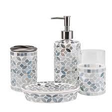 ceramic bathroom accessory set bath