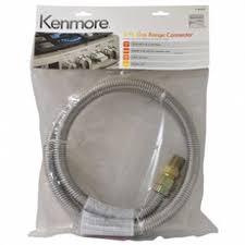 kenmore 51783. kenmore 99910 49698 60 in. gas range connector 51783