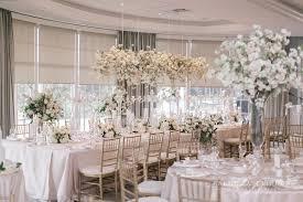 pretty cherry blossom wedding at london hunt club wedding decor