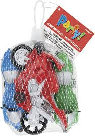 Amazon.com: <b>Plastic Toy Motorcycle</b> Party Favors , 4ct: Kitchen ...