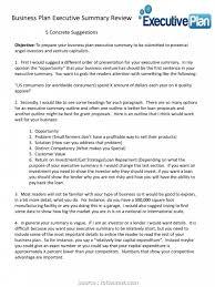 Executive Summary Outline 008 Briliant Executive Summary In Marketing Plan Sample