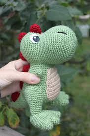 Free Crochet Dinosaur Pattern Custom Ravelry TRex Amigurumi Pattern By Kristel