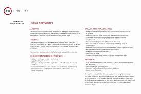 Copywriter Job Description Enchanting Junior Copywriter Job Description Refrence Sample Ad Copywriter