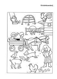 Kleurplaten Kinderboerderij Dieren Nvnpr Regarding Kleurplaat
