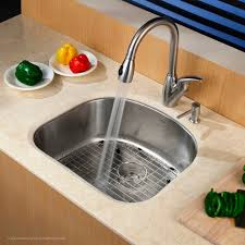 kitchen kitchen with sink 18 gauge drop in stainless steel sinks single basin stainless steel sink