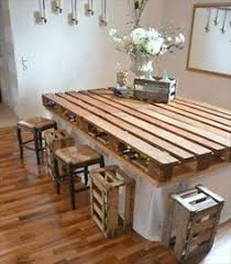 pallet furniture table. Pallet Dining Table DIY Most Cautious Ideas Furniture