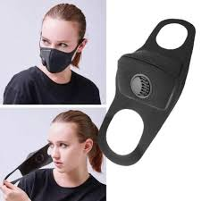 Washable <b>Polyurethane Face Mask</b> With Valve - <b>Adult</b> Faceshield ...
