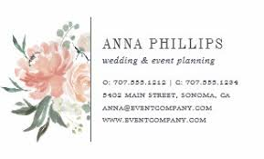 Event Planning Business Cards Zazzle